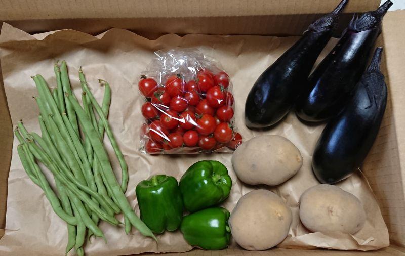 ミニ野菜ボックス